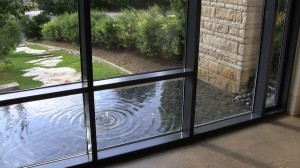 Dining Room Water Pool Feature